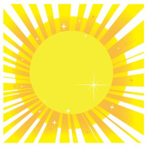 Summer sun
